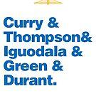 Golden State Warriors by quimmirabet