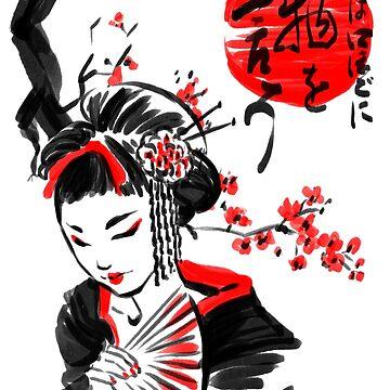 Geisha by ursulalopez