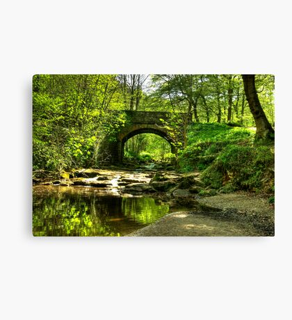 The Bridge at May Beck Canvas Print
