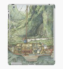Cutaway of Dustys Boat iPad Case/Skin