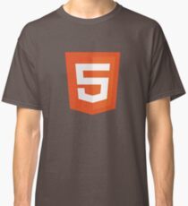 Silicon Valley - HTML5 Logo Classic T-Shirt