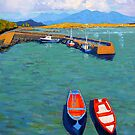 Roundstone Harbour, Galway, Ireland by eolai