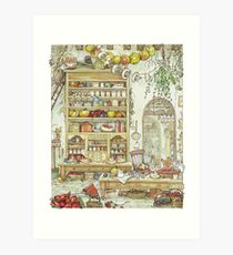 The Palace Kitchen Art Print