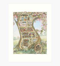 Crabapple Cottage Kunstdruck
