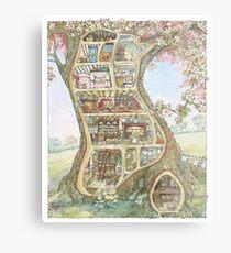 Crabapple Cottage Metal Print