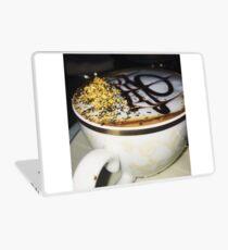 Golden Coffee Laptop Skin