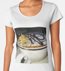 Golden Coffee Women's Premium T-Shirt