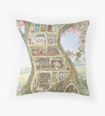 Crabapple Cottage Throw Pillow