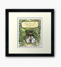 Poppy and Dusty get engaged Framed Print