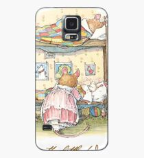 Lady Woodmouse gets the little mice into bed Case/Skin for Samsung Galaxy