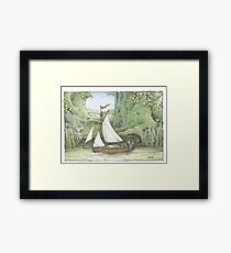 Sea Story Framed Print