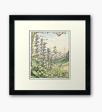 On the way to the Store Stump Framed Print