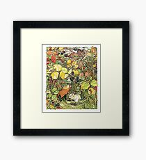 Blackberry picking Framed Print
