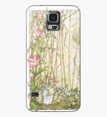 Primrose gathering flowers Case/Skin for Samsung Galaxy
