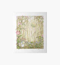 Primrose gathering flowers Art Board