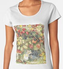 Primrose at the entrance to the tunnels Women's Premium T-Shirt