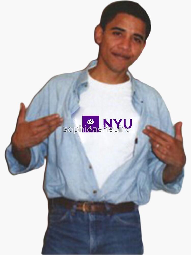 Obama NYU de sophieashapiro