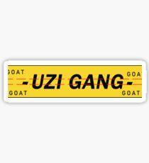 Uzi Gang  Sticker