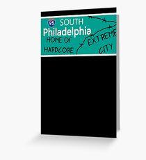 ECW Philadelphia - Hardcore City T shirt Greeting Card