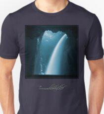 Trümmelbachfälle: cyan 2 (T-Shirt) Unisex T-Shirt