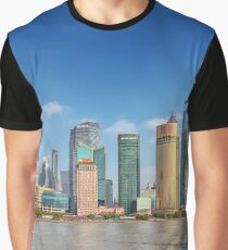 Morning Hours At The Bund Graphic T-Shirt