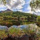 Hospital Lochan. Glencoe. Early Summer. Lochaber. Scottish Highlands. by PhotosEcosse
