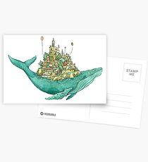 Wal Sky Island Postkarten