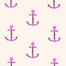 Glitter Anchor Pattern by Prettyinpinks