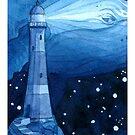 Wal und Leuchtturm von juliacoalrye