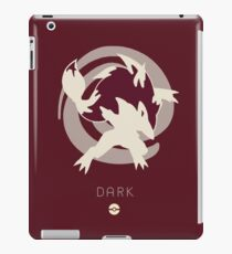 Pokemon Type - Dark iPad Case/Skin