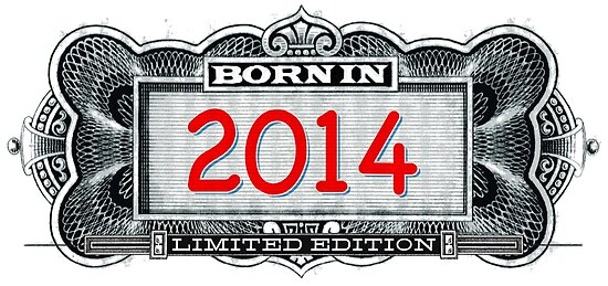 Born In 2014 - Limited Edition