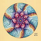 Seascape Mandala by SarahOyetunde
