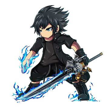 Noctis (Brave Frontier style) by Hyrchurn