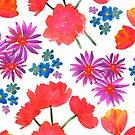 Garden flowers by EunjiJung