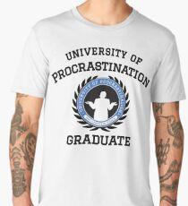 Uni of Procrastination - Procrastinators Unite! Men's Premium T-Shirt