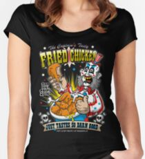Tasty Fried Chicken Women's Fitted Scoop T-Shirt