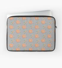 Peach Floral Laptop Sleeve