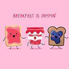 «El desayuno es Jammin '» de EuGeniaArt