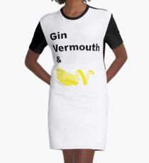 Vestido camiseta Gin Martini clásico
