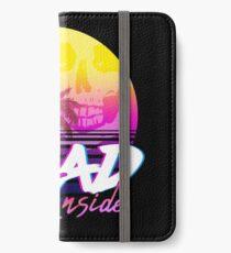 Dead Inside - Vaporwave Miami Aesthetic Spooky Mood iPhone Wallet/Case/Skin