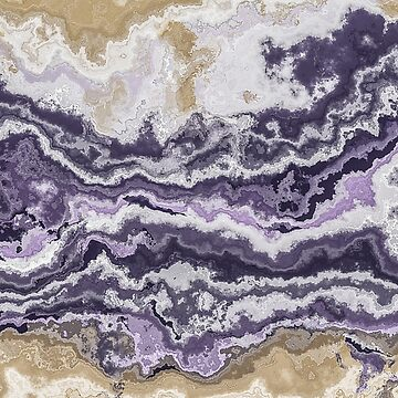 Purple and ochre marble texture by pattypattern
