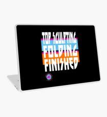 TOP SCULPTING - FOLDING - FINISHED Laptop Skin