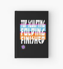 TOP SCULPTING - FOLDING - FINISHED Hardcover Journal