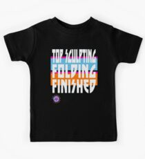 TOP SCULPTING - FOLDING - FINISHED Kids Tee