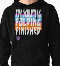 TOP SCULPTING - FOLDING - FINISHED Pullover Hoodie