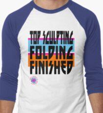 TOP SCULPTING - FOLDING - FINISHED Men's Baseball ¾ T-Shirt