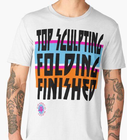 TOP SCULPTING - FOLDING - FINISHED Männer Premium T-Shirts