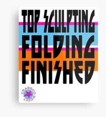 TOP SCULPTING - FOLDING - FINISHED Metal Print