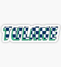 TU retro racing Sticker