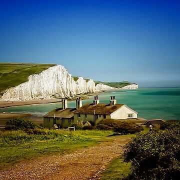 Seven Sisters, Sussex by spuddyduck